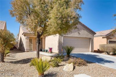 North Las Vegas Single Family Home For Sale: 3408 Flinthead Drive