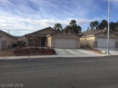 Las Vegas Single Family Home For Sale: 7805 Olympus Avenue