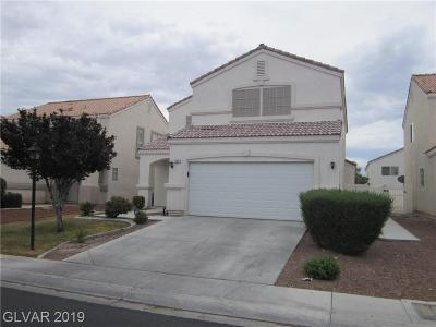 North Las Vegas Single Family Home For Sale: 609 Painted Opus Place