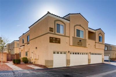 NORTH LAS VEGAS Condo/Townhouse Under Contract - No Show: 6312 Rolling Rose Street #201