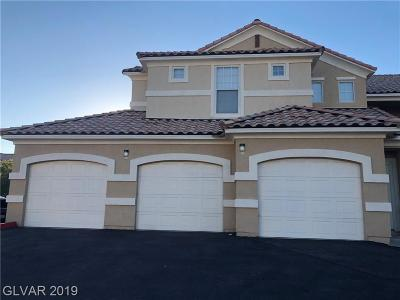 NORTH LAS VEGAS Condo/Townhouse For Sale: 5855 Valley Drive #2037