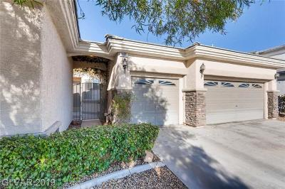 Las Vegas Single Family Home For Sale: 3685 Hardwick Hall Way