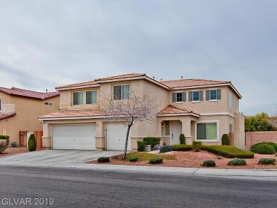 North Las Vegas Single Family Home For Sale: 6539 Feather Peak Street