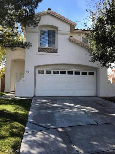 Las Vegas  Single Family Home For Sale: 10541 Shadowland Avenue