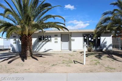 Las Vegas Single Family Home Under Contract - No Show: 4896 Billman Avenue