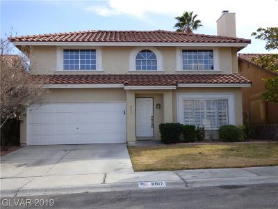 Single Family Home For Sale: 8617 Catalonia Drive
