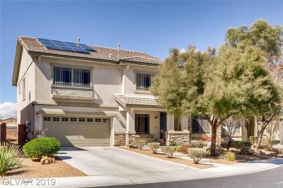 North Las Vegas Single Family Home Under Contract - Show: 8331 China Falls Street