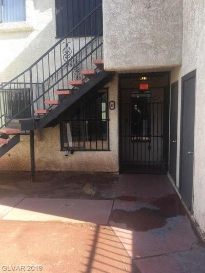 NORTH LAS VEGAS Condo/Townhouse For Sale: 2117 Sun Avenue #B