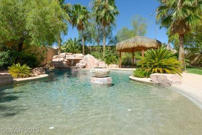 Las Vegas Single Family Home For Sale: 8970 Lansberry Court