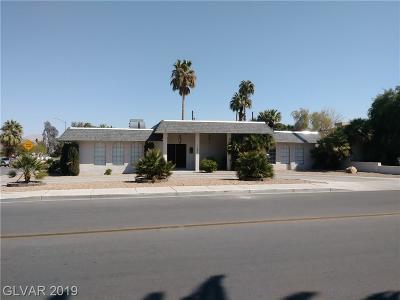 Las Vegas Single Family Home For Sale: 1101 6th Street