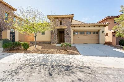 Henderson Single Family Home For Sale: 1043 Via San Gallo Court