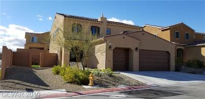 North Las Vegas Single Family Home For Sale: 6733 Towerstone Street