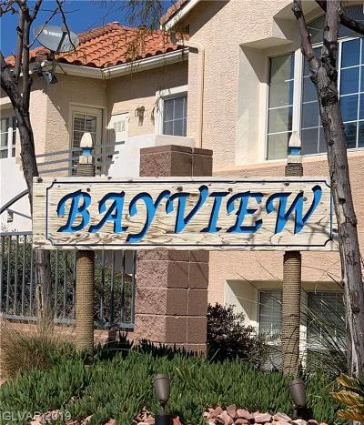 Boulder City Condo/Townhouse For Sale: 693 Bay View Drive