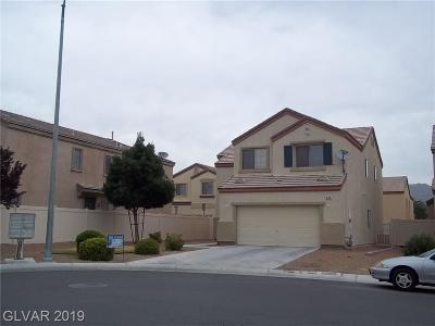 North Las Vegas Single Family Home For Sale: 534 Dolphin Peak Court