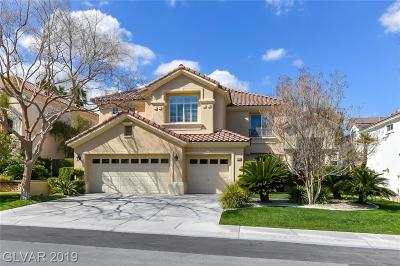 Corta Bella At Summerlin, Corta Bella Single Family Home Under Contract - No Show: 8808 Cortile Drive
