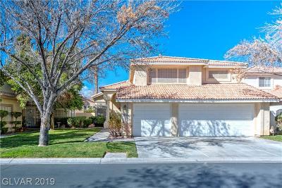 Las Vegas Single Family Home For Sale: 5505 Desert Spring Road