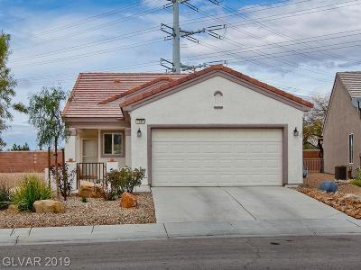 North Las Vegas Single Family Home For Sale: 7945 Lily Trotter Street