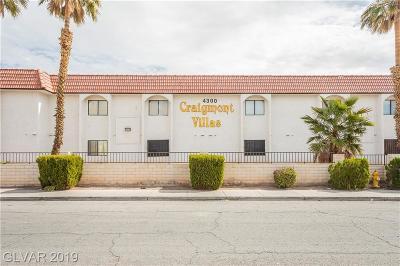 NORTH LAS VEGAS Condo/Townhouse For Sale: 4300 Lamont Street #256