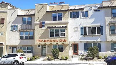 Henderson Condo/Townhouse For Sale: 1309 Jewelstone Circle