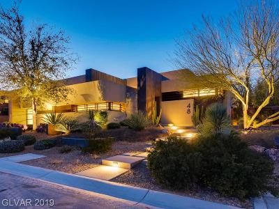 Las Vegas NV Single Family Home For Sale: $3,995,000