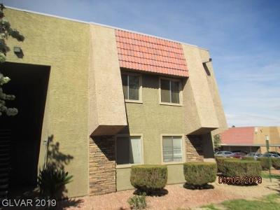 Las Vegas, Henderson Rental Under Contract - Show: 5080 Indian River Drive #404