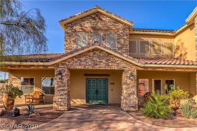 Las Vegas Single Family Home For Sale: 5770 Rosada Way