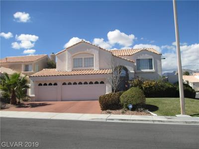 Blue Diamond, Boulder City, Henderson, Las Vegas, North Las Vegas, Pahrump Single Family Home For Sale: 2121 Greenhouse Court