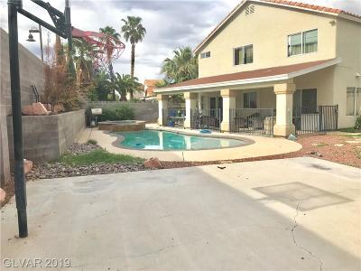 Las Vegas, North Las Vegas, Henderson Single Family Home For Sale: 1001 Redlands Circle