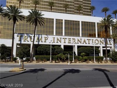 Trump Intl Hotel & Tower-, Trump Intl Hotel & Tower- Las, Signature At Mgm, Palms Place A Resort Condo & S, Vdara Condo Hotel, Platinum Resort Condo High Rise For Sale: 2000 Fashion Show Drive #1718