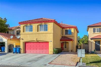 Single Family Home For Sale: 644 Ribbon Grass Avenue