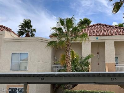 Las Vegas Condo/Townhouse For Sale: 5000 Red Rock Street #219