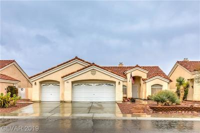 Las Vegas Single Family Home Under Contract - No Show: 5608 Windy Gorge Street