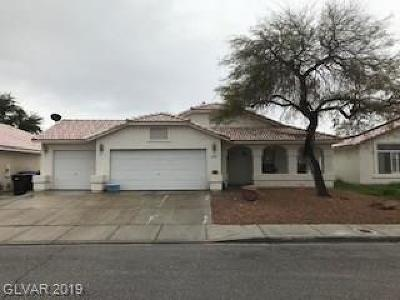 North Las Vegas Single Family Home For Sale: 4319 Critic Court