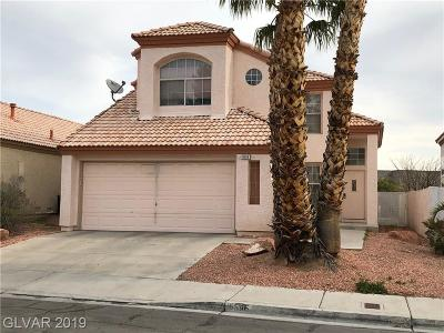 Las Vegas Single Family Home For Sale: 9596 World Cup Drive