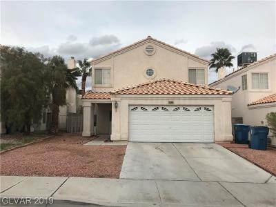 Las Vegas NV Single Family Home For Sale: $209,888