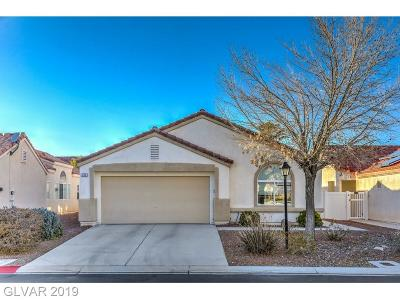 North Las Vegas Single Family Home For Sale: 356 Regal Robin Way