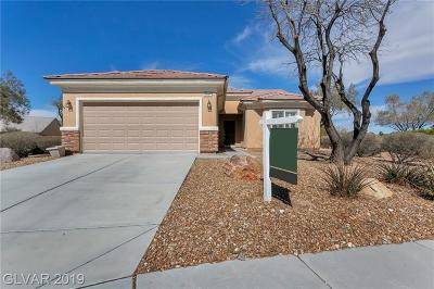 North Las Vegas Single Family Home For Sale: 3608 Harrier Court
