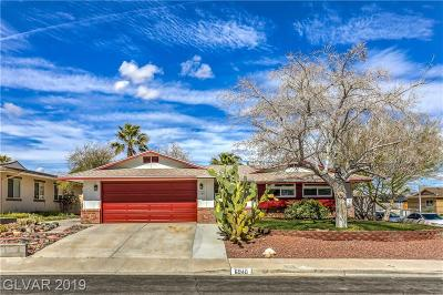 Las Vegas NV Single Family Home For Sale: $275,000