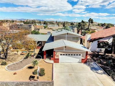 Boulder City Single Family Home For Sale: 1525 Mancha Drive