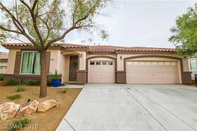 Henderson Single Family Home For Sale: 967 Mill Run Creek Avenue
