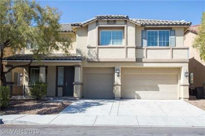 Las Vegas NV Single Family Home For Sale: $379,900