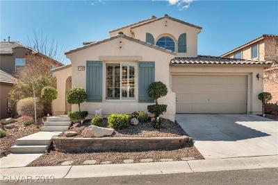 Clark County Single Family Home For Sale: 11409 Via Spiga Drive