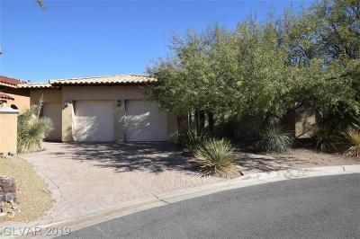 Henderson, Las Vegas Single Family Home For Sale: 3 Rue Allard Way