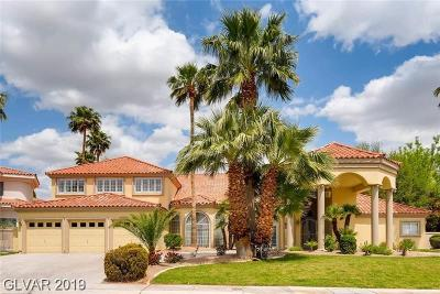 Las Vegas Single Family Home For Sale: 37 Princeville Lane