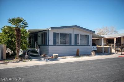 Las Vegas Manufactured Home For Sale: 3519 Haleakala Drive