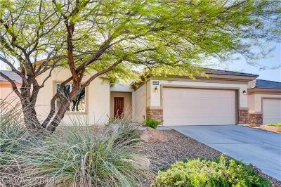 North Las Vegas Single Family Home For Sale: 7834 Lyrebird Drive