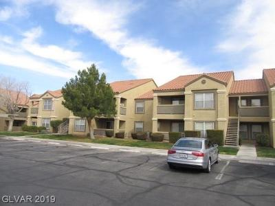 Condo/Townhouse For Sale: 2300 Silverado Ranch Boulevard #2098
