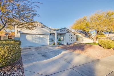 North Las Vegas Single Family Home For Sale: 3647 Cool Vista Court