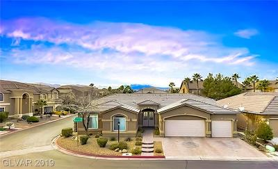 Las Vegas NV Single Family Home For Sale: $549,900