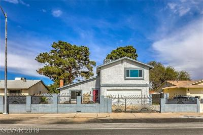 Las Vegas Single Family Home For Sale: 4452 Wyoming Avenue
